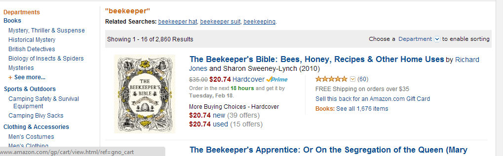 beekeeping amazon
