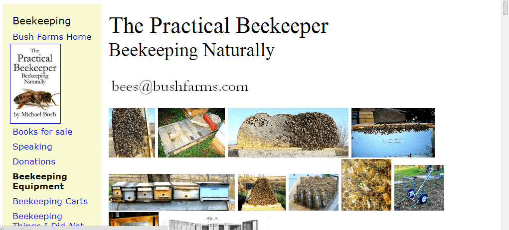 beekeeping website