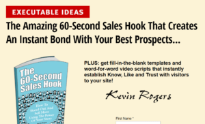 The Powerful 60 Seconds Sales Hook