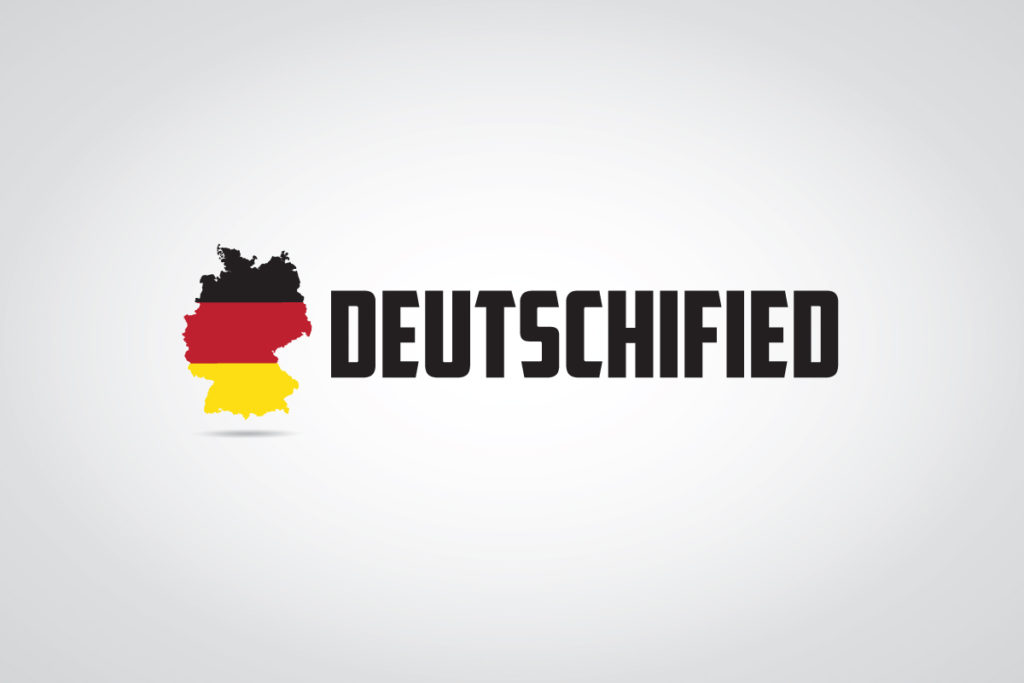 deutschified logo