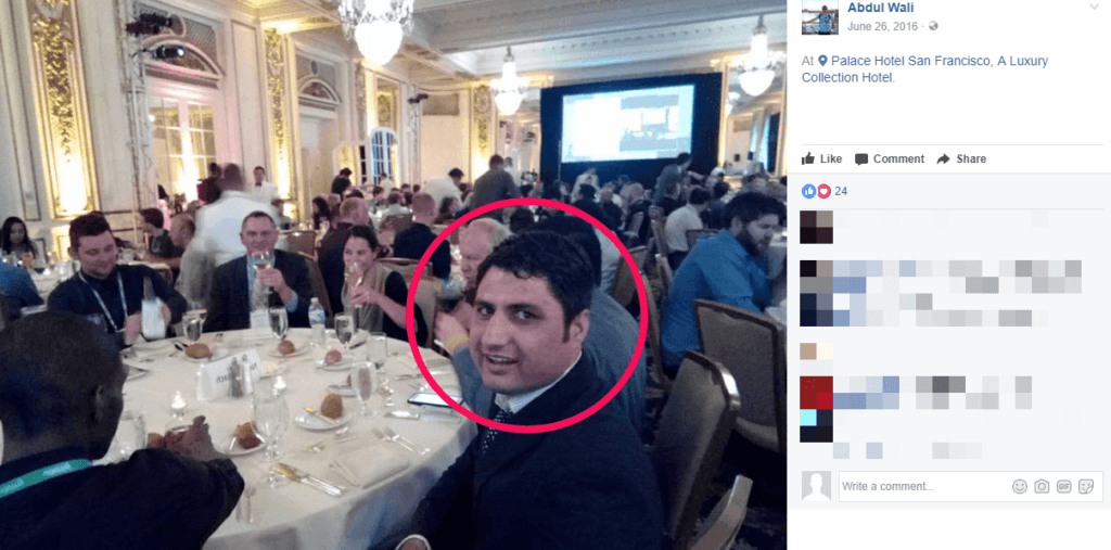 Abdul Wali at Udemy annual conference