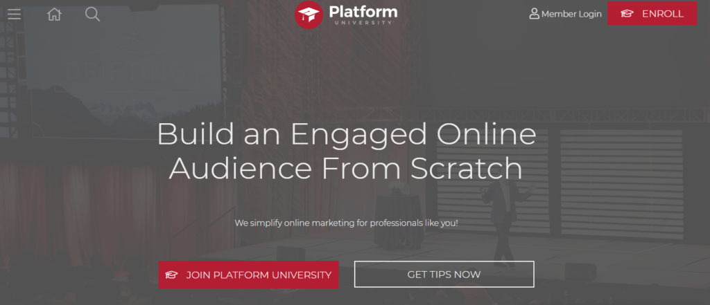The Platform University by Michael Hyatt