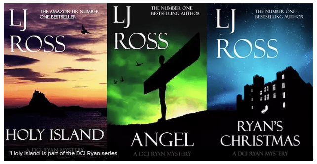 LJ Ross novel series